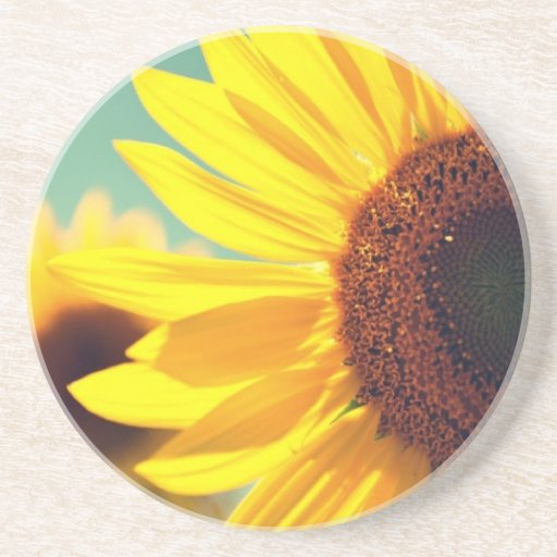 Sippin Sunflowers Coaster