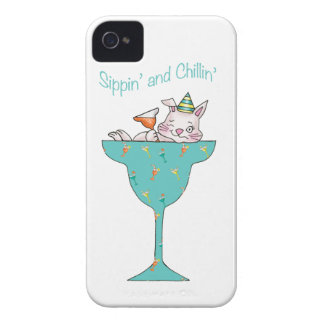 Sippin y Chillin iPhone 4 Protector