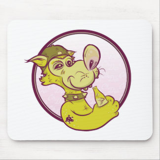 sipping pad mouse pad