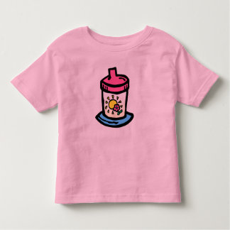 Sippy cup toddler t-shirt