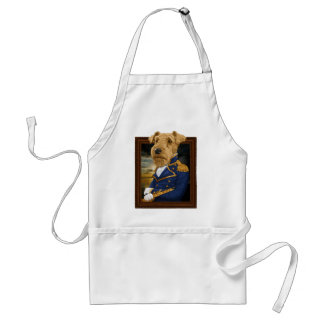 Sir Airedale Terrier Adult Apron