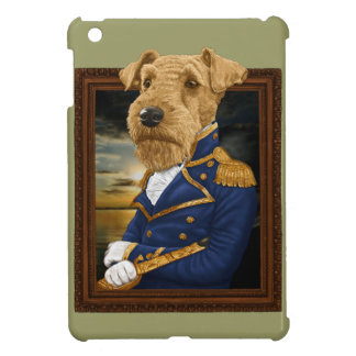 Sir Airedale Terrier Case For The iPad Mini