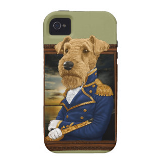 Sir Airedale Terrier iPhone 4 Cases
