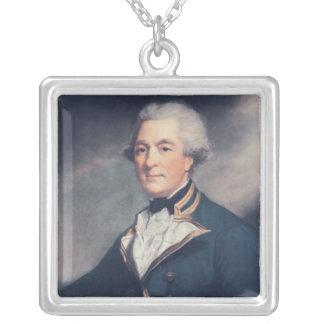 Sir Andrew Hamond, Bt. Square Pendant Necklace