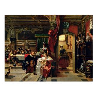Sir Anthony van Dyck  in London, 1837 Postcard