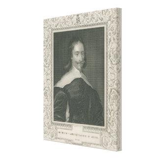 Sir Archibald Campbell, 1st Marquess Canvas Print