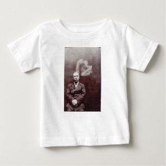 Sir Arthur Conan Doyle with Ghost by Ada Deane Baby T-Shirt