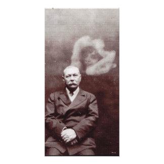 Sir Arthur Conan Doyle with Ghost by Ada Deane Card