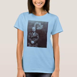 Sir Arthur Conan Doyle with Ghost by Ada Deane T-Shirt