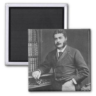 Sir Arthur Sullivan 2 Inch Square Magnet