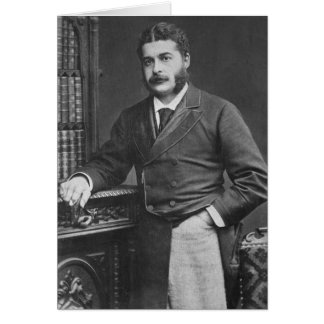 Sir Arthur Sullivan Card