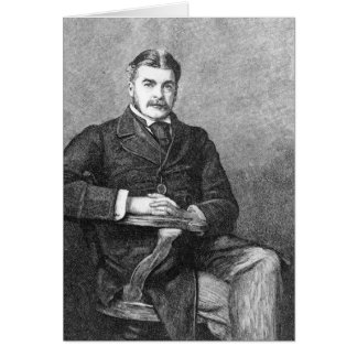 Sir Arthur Sullivan, engraved by C. Carter Card