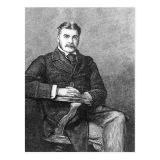 Sir Arthur Sullivan, engraved by C. Carter Postcard