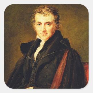 Sir Augustus Wall Callcott (1799-1844) 1847 (oil o Square Sticker
