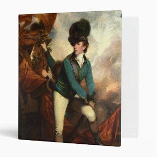 Sir Banastre Tarleton by Joshua Reynolds Vinyl Binder