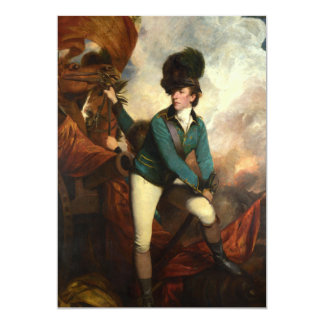 Sir Banastre Tarleton by Joshua Reynolds Card