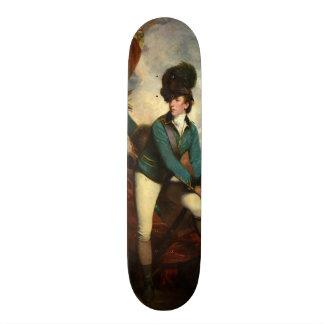 Sir Banastre Tarleton by Joshua Reynolds Skate Board