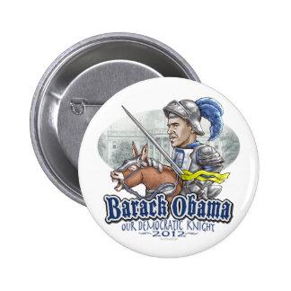 Sir Barack Obama Pin Redondo De 2 Pulgadas