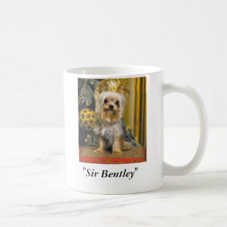 """""""Sir Bentley """" Tazas"""