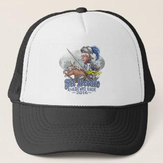 Sir Bernie Democrat White Knight Trucker Hat