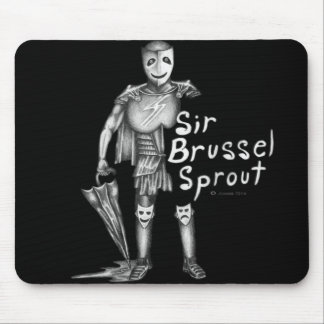 Sir Brussel-sprout Tapete De Ratón