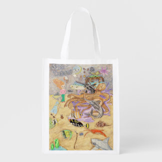 Sir Byron The Octopus Has Counsel Reusable Grocery Bag
