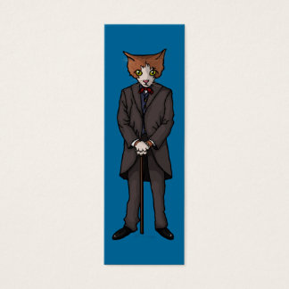 Sir Cat, bookmark pack or business cards