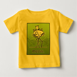 Sir Cat Meow Baby T-Shirt