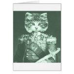 Sir Cat Whiskers Tarjetas
