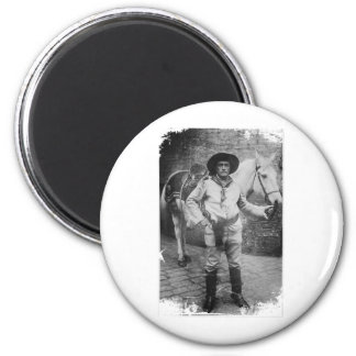 Sir Cave 2 Inch Round Magnet