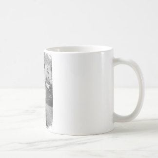 Sir Cave Classic White Coffee Mug