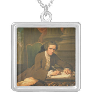 Sir Charles Frederick, 1735 Square Pendant Necklace