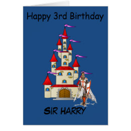 SIR (CHILDS NAME) BIRTHDAY GREETING CARD