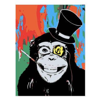 Sir Chimpy Postcard