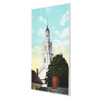Sir Christopher Wren Tower View Canvas Print