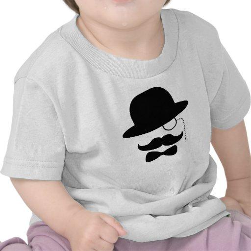 Sir con el bigote camiseta