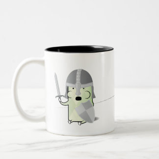 Sir Critter the Valiant Two-Tone Coffee Mug