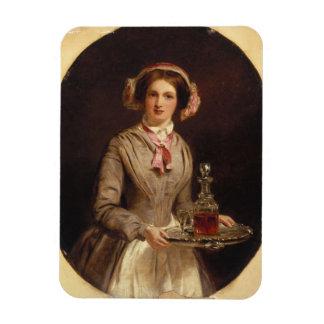 "¿""Sir del jerez? "", 1853 (aceite en lona) Imanes Rectangulares"