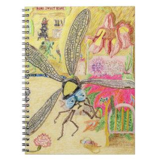 Sir detective Humphrey Dragonfly busca pistas Libros De Apuntes