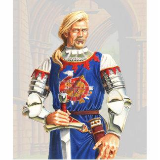 Sir Dinadan stand up Standing Photo Sculpture