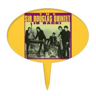 Sir Douglas Quintet Cake Topper
