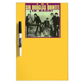 Sir Douglas Quintet Dry-Erase Board