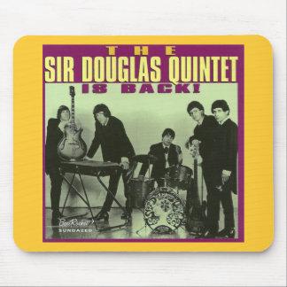 Sir Douglas Quintet Mouse Pad