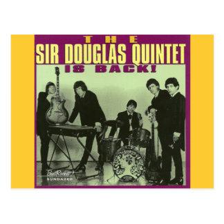 Sir Douglas Quintet Postcard
