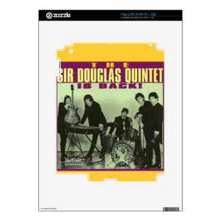 Sir Douglas Quintet Skins For The iPad 2