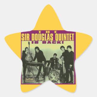 Sir Douglas Quintet Star Stickers
