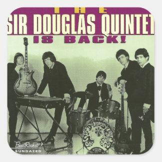 Sir Douglas Quintet Sticker