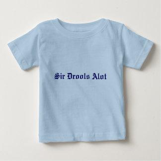 """""""Sir Drools Alot"""" baby tee"""