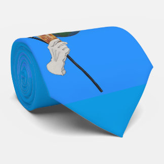 Sir Earth is having a cocktail Neck Tie