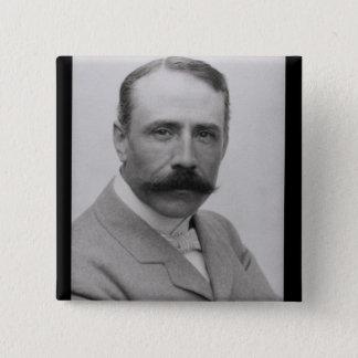Sir Edward Elgar (1857-1934) (photo) Button